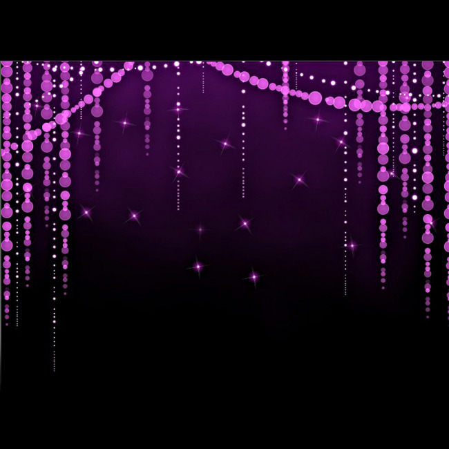 浪漫紫色珠帘视频