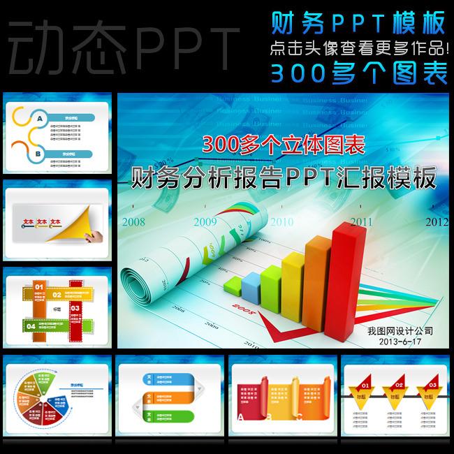 财务分析报告ppt模板下载