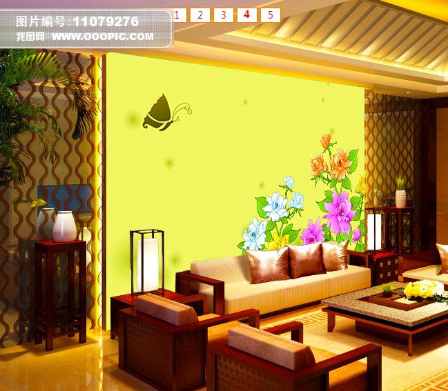 背景墙 电视 客厅/客厅电视背景墙模板下载