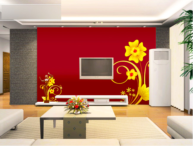 客厅电视背景墙模板下载(图片编号:11079394)