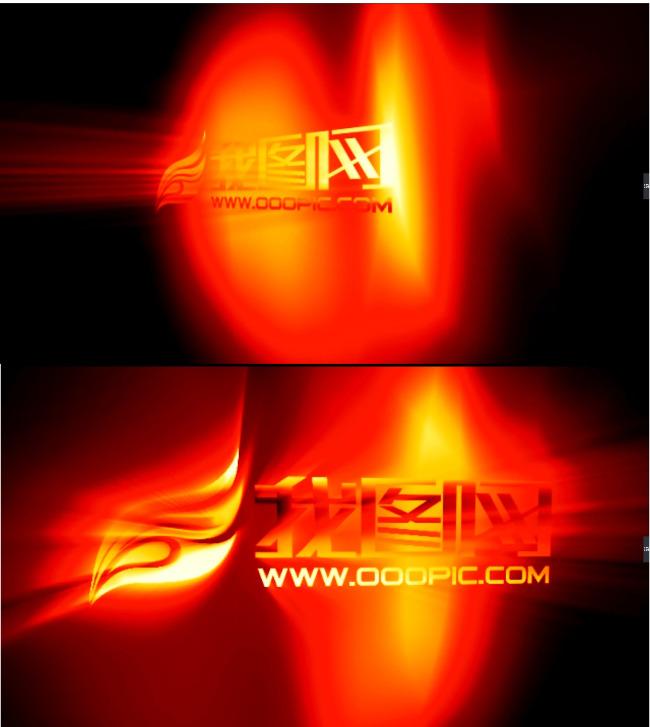 ae扫光logo演绎模板