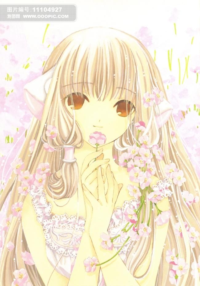 动漫人物美女插图图片下载 可爱萌图 游戏人物 手绘 漫画 性感 女生