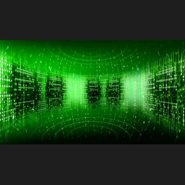 科幻数字流模板下载(图片编号:11109618)