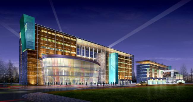 大厦模型下载3D大厦模型大型商业建筑模型模板下载 11116131 室外3