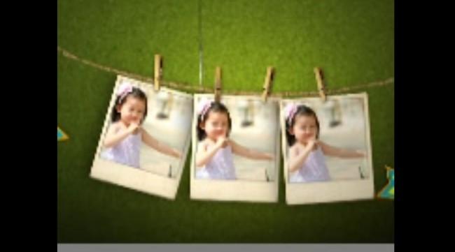 欢乐儿童电子相册ae模板