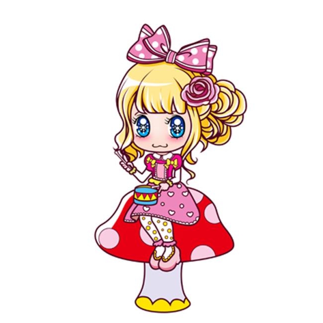 卡通女孩可爱女孩模板下载图片编号:1113602