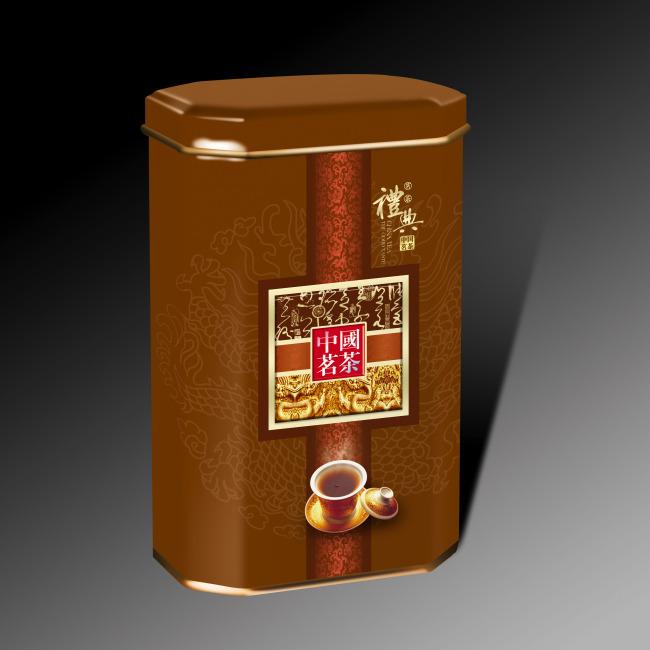 平面设计 其他 礼品|包装|手提袋设计模板 > 中国茗茶茶罐包装  下一