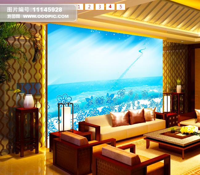 客厅电视背景墙模板下载(图片编号:11145928)