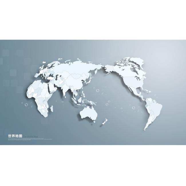 平面设计 地图 世界地图 > 世界地图  下一张> [版权图片]