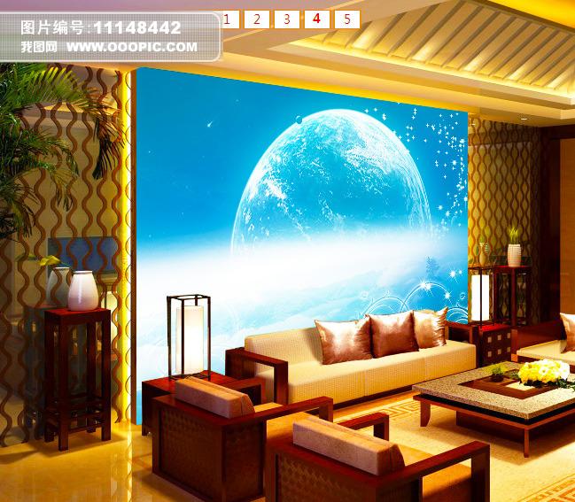 客厅电视背景墙图片电视背景墙电视墙背景墙客厅电视墙 大厅壁画 酒店