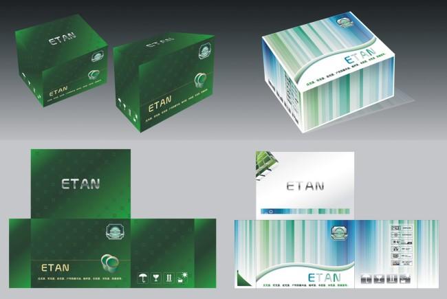 产品包装 包装模板 高档