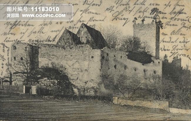 古建筑 旅行 绘画