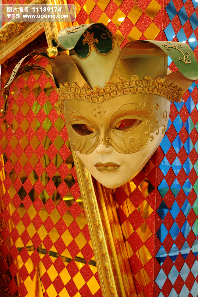现代艺术装饰面具