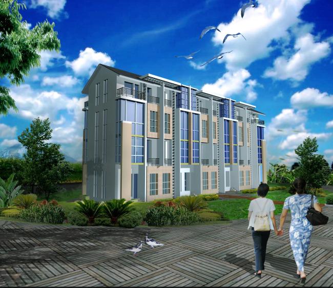 效果图 模型/住宅效果图3Dmax模型