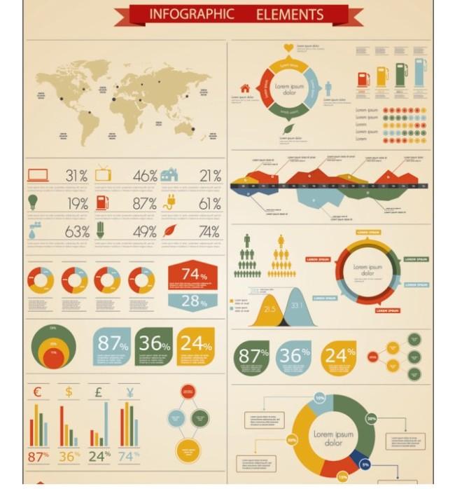 数据统计模板下载 数据统计图片下载