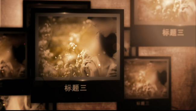 周年纪念老同学老照片相册模板下载(图片编号:)_片头