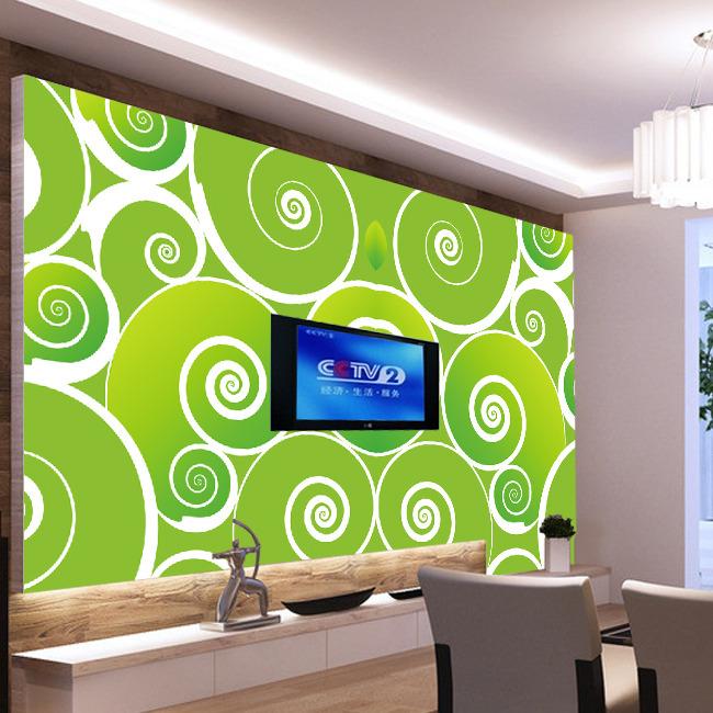 背景墙|装饰画 电视背景墙 电视背景墙 > 绿萝圈圈背景墙