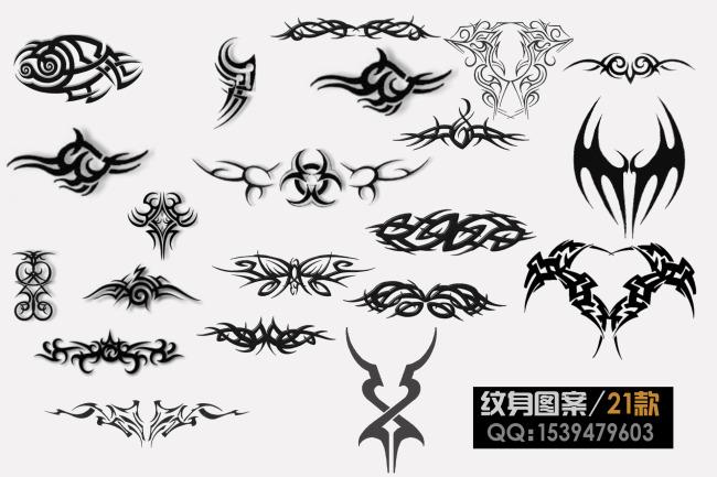 纹身图案笔刷