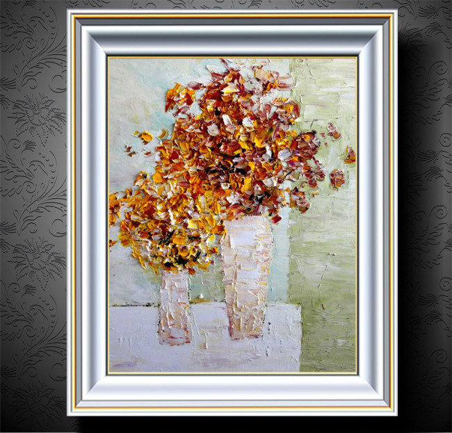 花卉油画装饰画模板下载(图片编号:11287241)