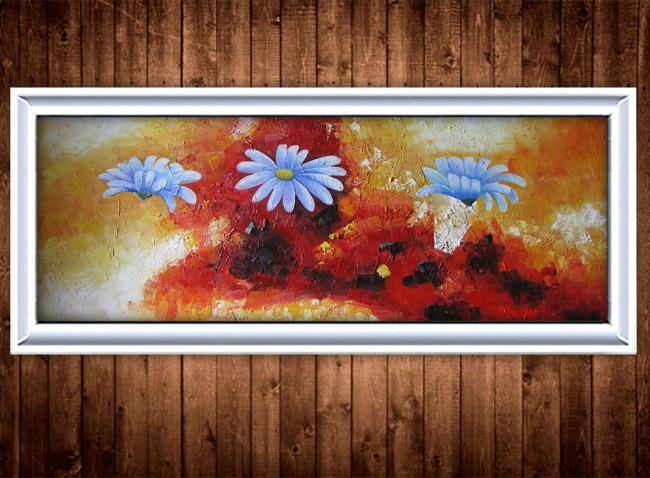 花卉油画装饰画模板下载(图片编号:11291061)