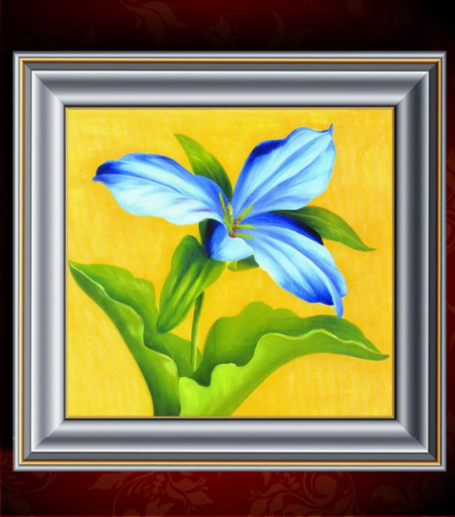 花卉油画装饰画模板下载(图片编号:11292000)