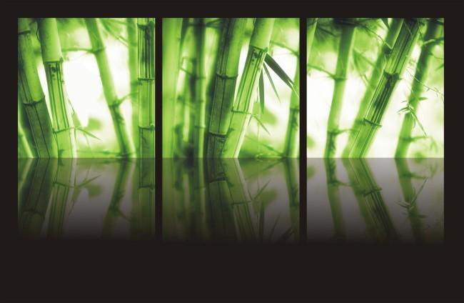 景观竹林手绘图
