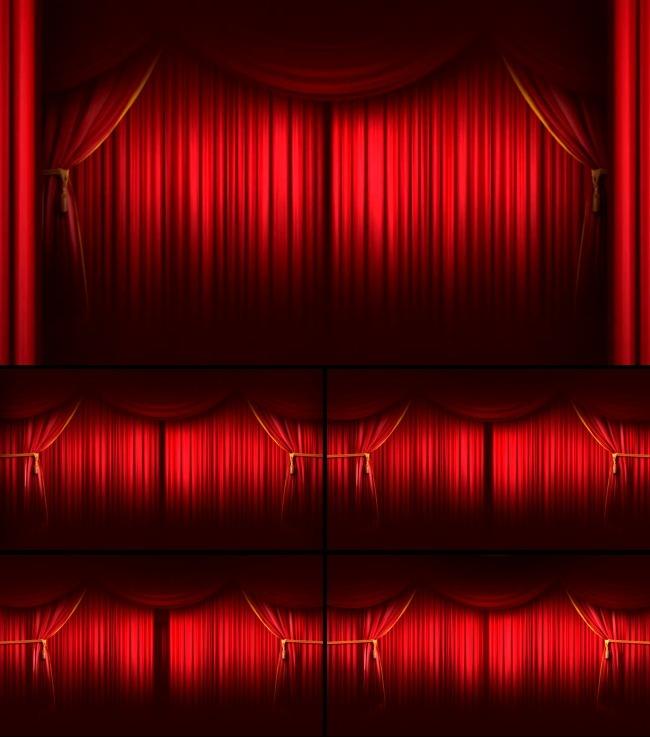 晚会年会婚礼开场幕布背景视频模板下载(图片编号:)