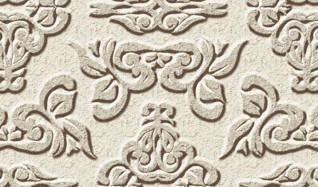 欧式花纹雕刻装饰画背景墙