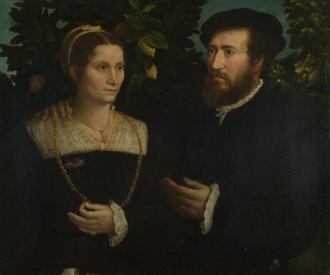 一个男人和他的妻子图片