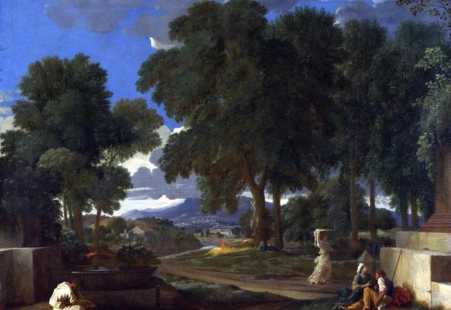 风景油画 > 普桑