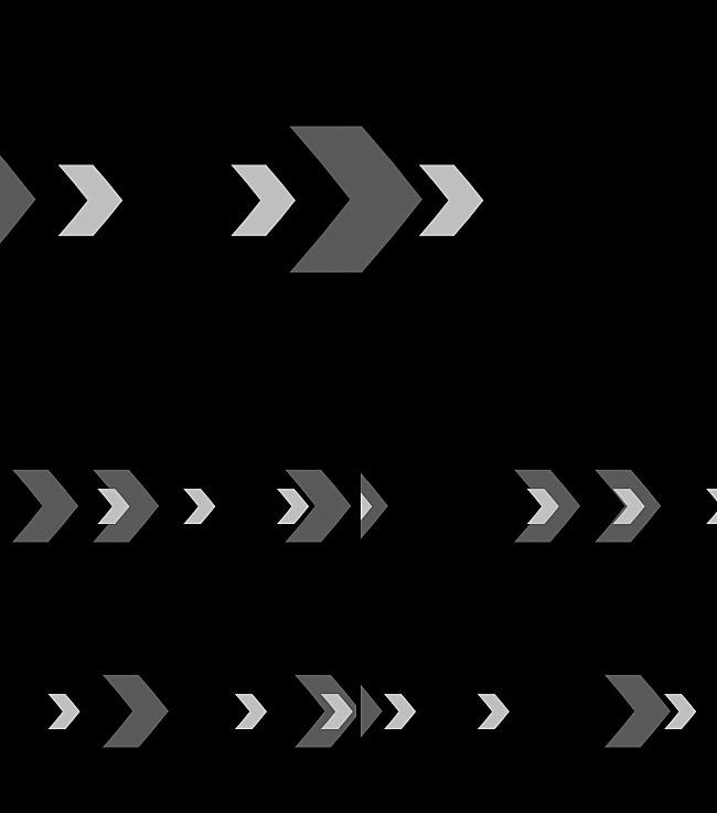 黑白箭头走向前进设计led视频素材图片