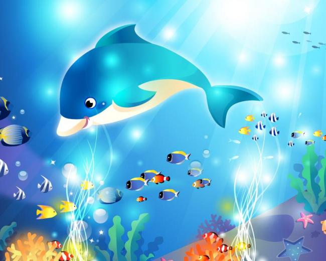 海底珊瑚卡通图片