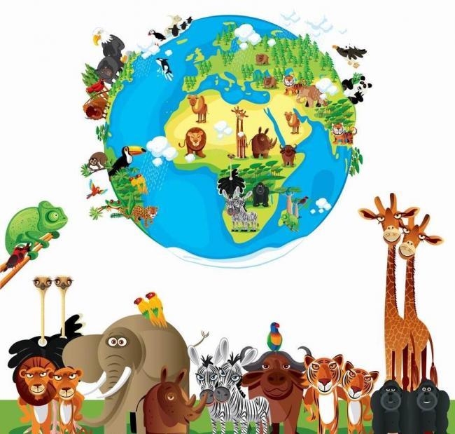 熊猫 旅游 度假 旅行 地球 全球 出行 出差 时尚 享受 休闲 生活 卡通图片