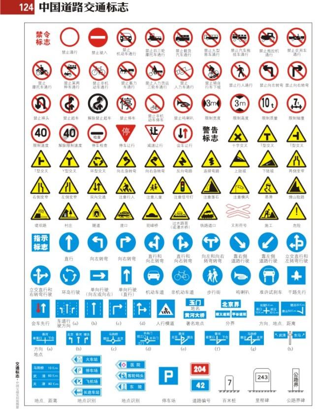 交通标志.cdr