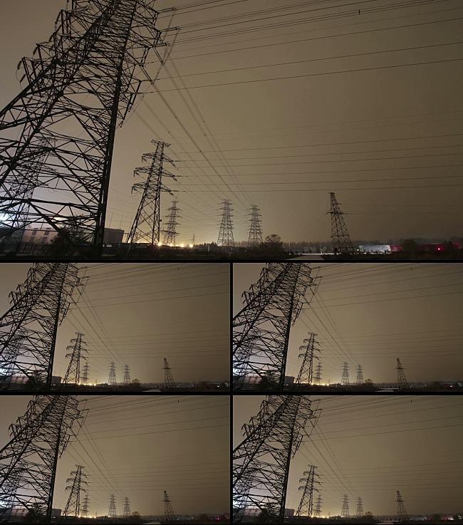 动感电力铁塔特效视频背景模板下载(图片编号:)_动态