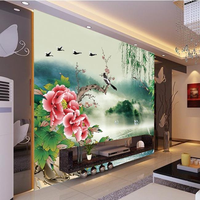 室内背景墙模板
