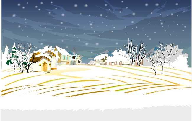 flash雪景动画场景设计源文件模板下载 11419369 其他Flash源文件 网图片