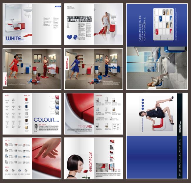 设计手册 创意画册 产品样本图片