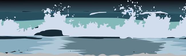 flash海浪波浪动画设计源文件