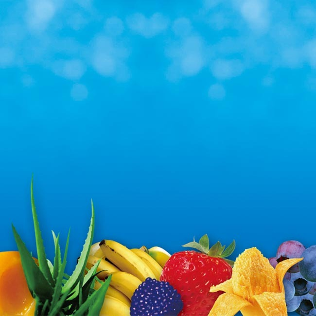 超炫水果類海報分層