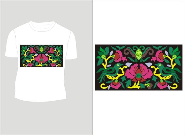民族色彩 少数民族图案 少数民族元素 t恤设计 花纹设计 民族特色图案