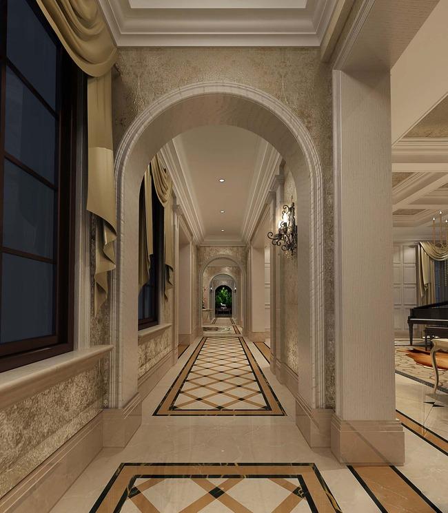 欧式别墅室内设计方案配9张高清效果图