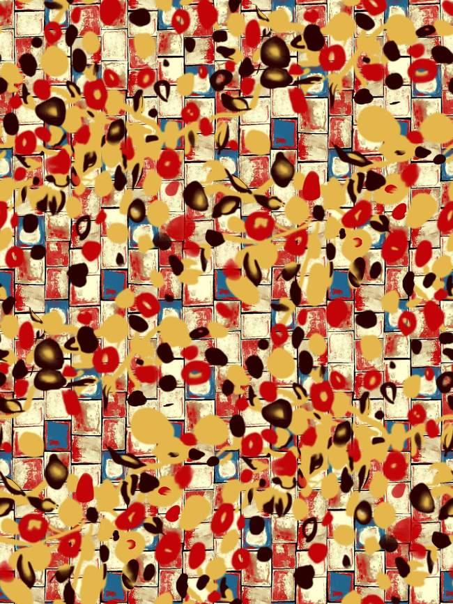抽象/[版权图片]几何抽象图