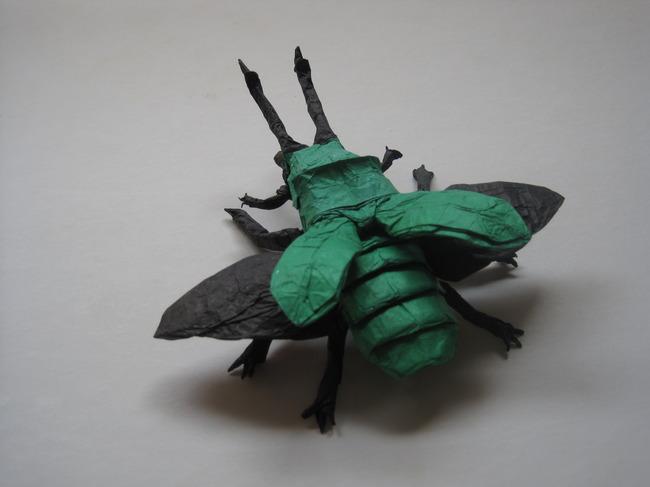 折纸图片 美术 少儿美术手工 手工制作 手工作品 立体折纸艺术 折纸