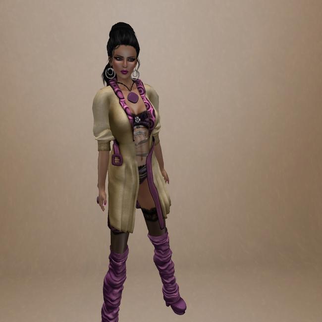 时装插画 3d人物画 时装模特 女性时装模特 模特画 时装画 电脑手绘
