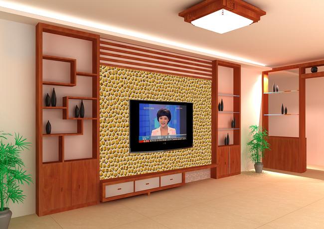文化石电视背景墙