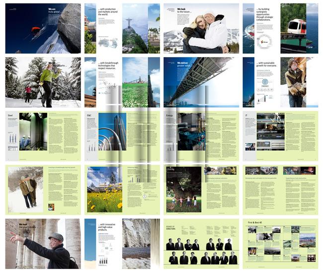 画册 杂志排版 企业画册 封面设计 会刊 版面素材 版式模板 插页 宣传图片