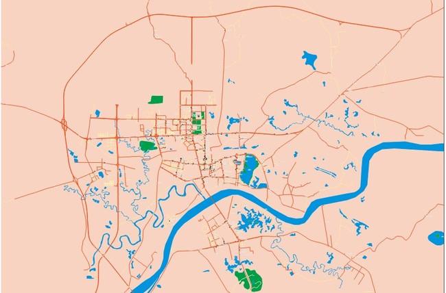 广西贵港市区地图矢量地图cdr地图模板下载 11462196 其他 其它图片