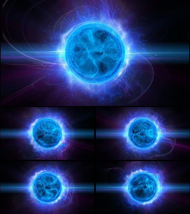 魔法球动态视频素材
