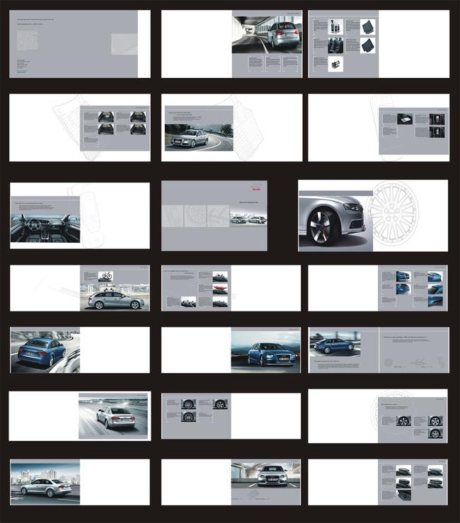 汽车品牌宣传画册模板下载(图片编号:11474316)